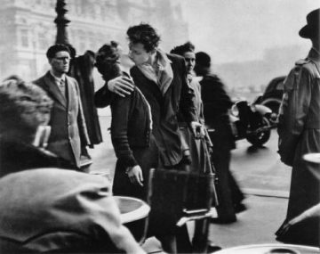 Robert Doisneau. O Beijo do Hotel de Ville, 1950