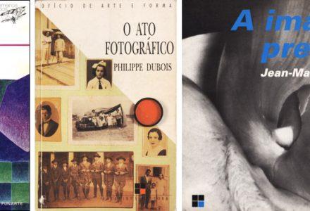 A Ilusão Especular, de A. MAchado; O Ato Fotográfico, de Ph. Dubois; A Imagem Precária, de J.-M. Schaeffer