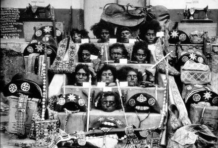 Lampião e cangaceiros de seu bando decaptados, 1938