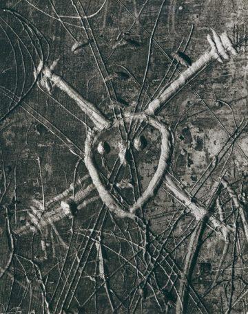 Brassai, Graffiti, Série VII, A Morte, 1935-50