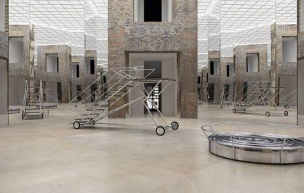 Ana Maria Tavares, Exit III com Parede Niemeyer