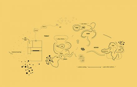Ricardo Basbaum. Diagrama. Da série Me-You Series, 2005