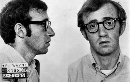Woody Allen, em Take the Money and Run, 1969